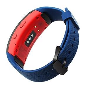 TRUMiRR Gear Fit 2 Armband, Silikon Gummiband Sport Armband Handgelenk Uhrenarmband Armband für Samsung Gear Fit 2 SM-R360 / Fit 2 Pro SM-R365 Smart Watch