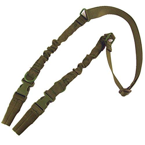 wwman US in nylon doppio punto rotondo Cordino Corda missione tattico cinghia Vera Guerra tattico punti Shotgun Sling, OD - Paintball Gun Slings