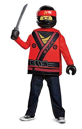 LEGO Ninjago Movie 23710-EU Zubehör Kostüm, grau, Einheitsgröße