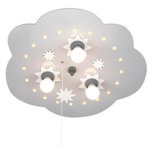 Elobra Deckenleuchte Sternenwolke, silber 124567