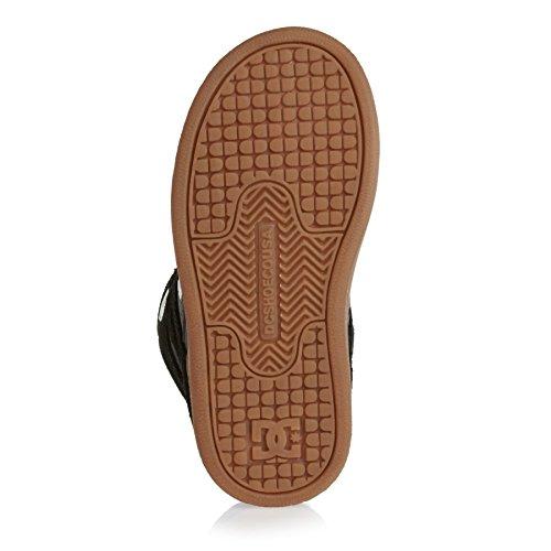 DC Shoes Rebound, Baskets mode garçon Black