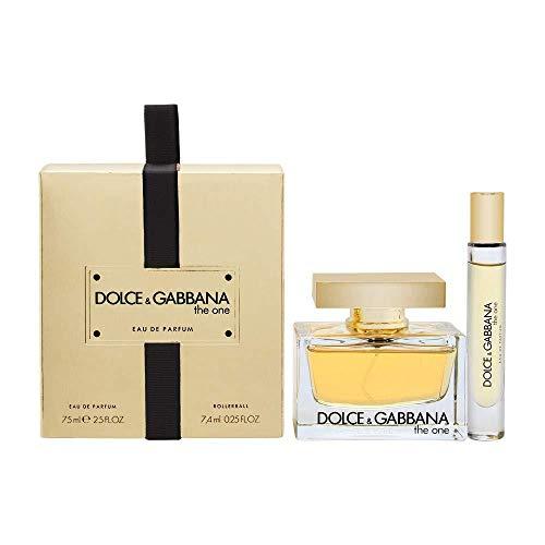 DOLCE & GABBANA THE ONE EDP 75ML + MINI 7.4 ML SET REGALO (Von Dolce One Und Gabbana The Parfum)