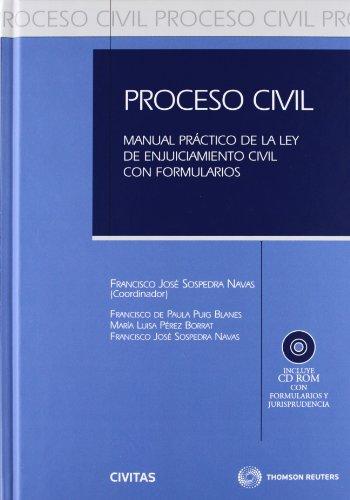 Proceso civil por Francisco de Paula Puig Blanes