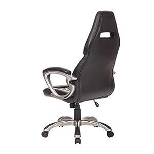 41K9K8S ulL. SS300  - Homcom-Racing-Gaming-deporte-silla-giratoria-silla-de-escritorio-de-cuero-ejecutiva-silla-de-oficina-PC-de-la-computadora-sillas-altura-ajustable-silln