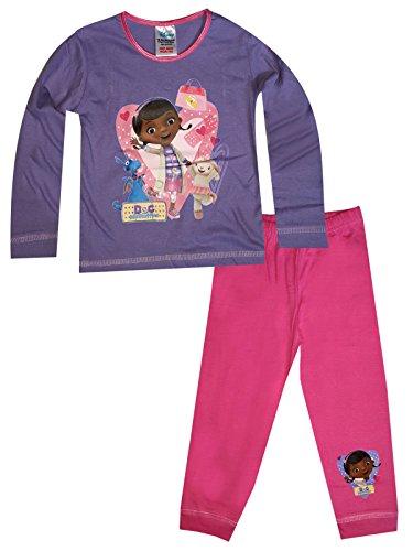 Mädchen-Kind-Mädchen Doc Mcstuffins Pyjamas Alter 1,5 bis 5 Jahre