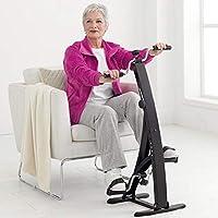 BAKAJI Pedaliera Allenamento Braccia Gambe Cyclette Dual Cycle Bike Ginnastica Passiva Esercizio Fitness Riabilitazione Anziani