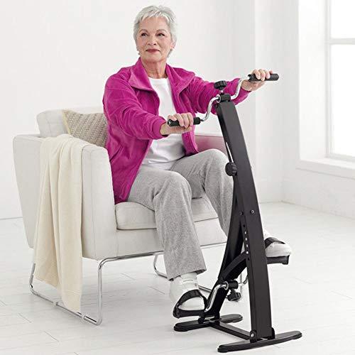 BAKAJI Pedaliera Allenamento Braccia Gambe Cyclette Dual Cycle Bike Ginnastica Passiva Esercizio...