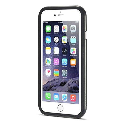 Phone case & Hülle Für iPhone 6 Plus & 6S Plus, Bumblebee Silm Hybrid PC Rahmen & TPU Schutzhülle ( Color : Red ) Black