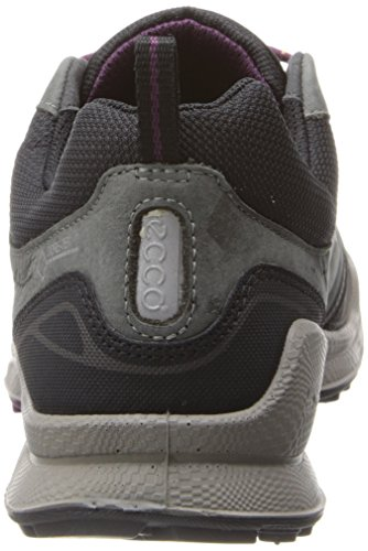 Ecco  ECCO BIOM ULTRA LADIES, Chaussures de fitness outdoor femmes Gris - Grau (BLACK/DARK SHADOW/BURGUNDY)