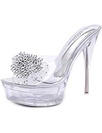 8e7b06c1bb7ed Suchergebnis auf Amazon.de für: stöckel - Sandalen / Damen: Schuhe ...