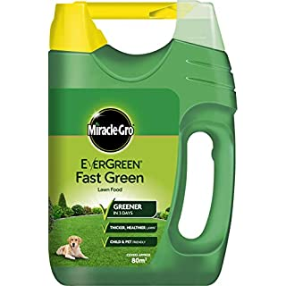 Miracle-Gro EverGreen Fast Green Spreader 2.8kg - 80m2