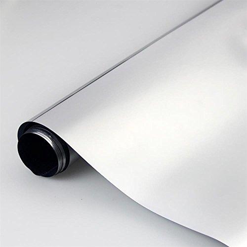 statische Sonnenschutzfolie | selbsthaftende Fensterfolie | UV-Schutz & Sichtschutz - 75 x 300 cm, FANCY-FIX