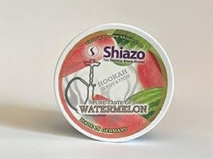 Shiazo - Pietre aromatizzate all'anguria per narghilè, no tabacco, 100 g