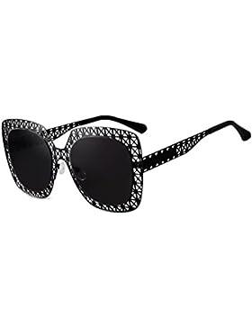 HAIYING Gafas De Sol Mujeres Diseño De Gran Hueco Lente Sin Marco Moda Gafas De Sol Polarizadas Gafas UV400