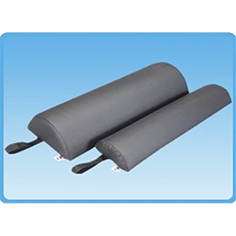 Half Round Bolster Size: 3 H x 24 W x 6 D, Color: Gray by Core Products