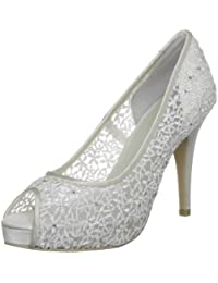 Menbur Wedding Halti Damen Peep-Toe Pumps