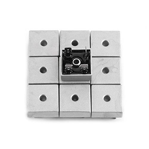 10 STÜCKE Brückengleichrichter KBPC5010 50A 1000 V High-Power-Metallgehäuse Einphasen-Diode Brückengleichrichter