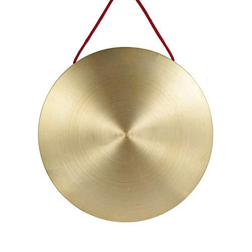 mAjglgE Hand-Gong Messing Kupfer Kapelle Opern Percussion Rund Spielhammer Instrument Spielzeug