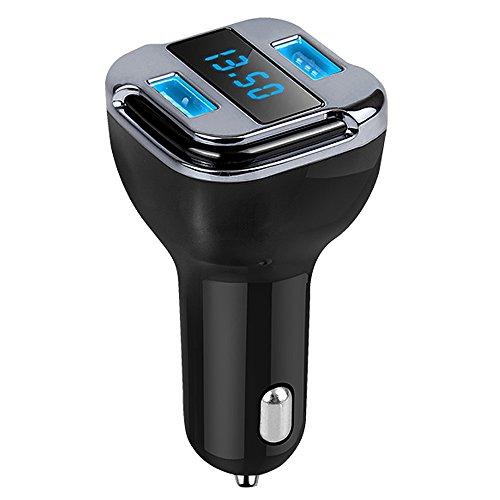41K9QrsWf1L - Cargador de Coche Tracker 4.2A Dual USB Coche rápido GPS Coche satélite con vehículo GPS localizador móvil App Buscador de Seguimiento en Tiempo Real de estacionamiento Dispositivos compatibles