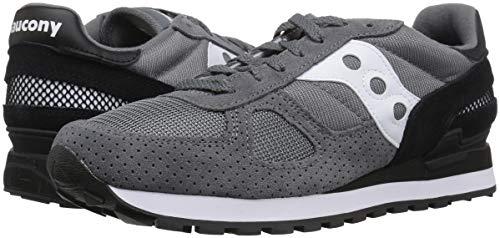 Saucony Shadow Original Sneakers Grey/Black Scarpe Uomo Modello 2108-694 Taglia 9