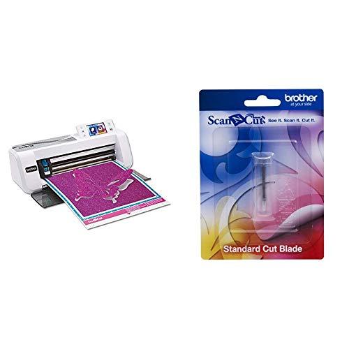 Brother ScanNCut CM300 Hobbyplotter mit Scanner & CABLDP1 Scan-N-Cut Schneidmesser für Standardschnitte silber - Brother Bedienungsanleitung