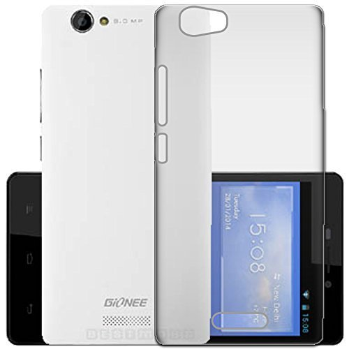 WTF Back Case, Lightweight,Shock Absorbing Transparent Soft Back Case Cover For Gionee Marathon M2  available at amazon for Rs.184