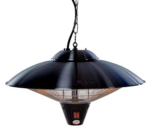Sunred Hängemodell 2100 W Halogen, schwarz, 60 x 60 x 40 cm, CE09B -