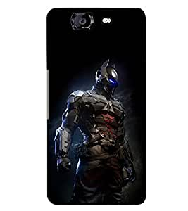 PRINTSWAG ARMOR MAN Designer Back Cover Case for MICROMAX A350 CANVAS KNIGHT
