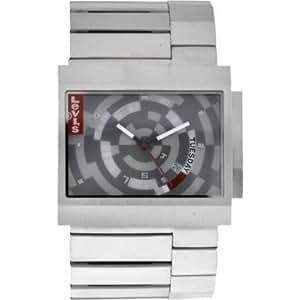 Levi's - L014GU-4 - Montre Mixte - Quartz - Analogique - Bracelet Acier inoxydable Argent
