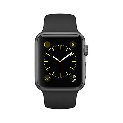 Apple 38mm Smart Watch (Space Gray, Black)