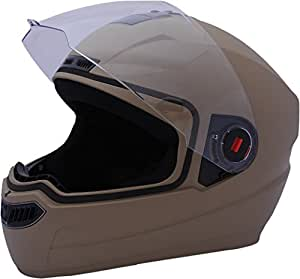 Steelbird Air SBA-1 Matte Full Face Helmet (Desert Storm, L)