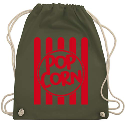 Karneval & Fasching - Popcorn Karneval Kostüm - Unisize - Olivgrün - WM110 - Turnbeutel & Gym Bag