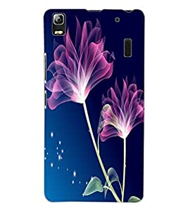 ColourCraft Lovely Flowers Design Back Case Cover for LENOVO K3 NOTE