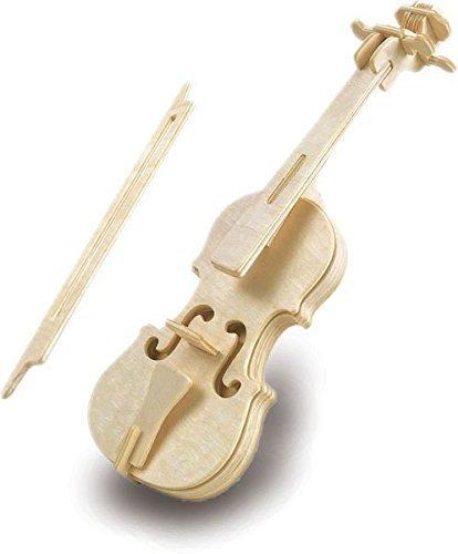 Quay L001 Holzbausatz für Violine, Braun