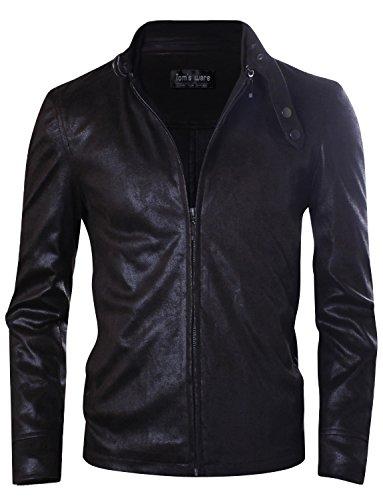 Tom's Ware Herren Rider Jacke modernes Taillen-Design TWCJ07-BROWN-M (US S)