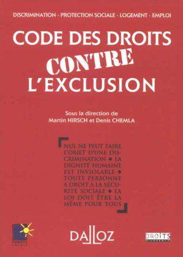 Code des droits contre l'exclusion