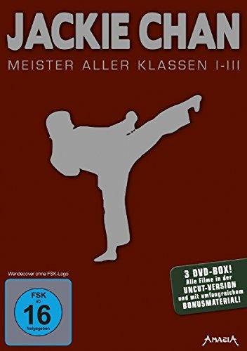 Jackie Chan - Meister aller Klassen 1-3 [3 DVDs]