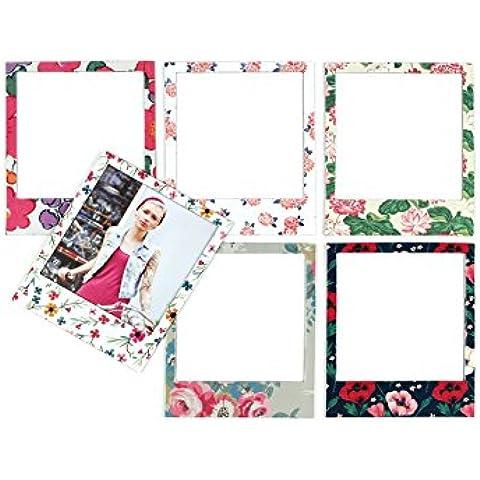 Doiy Polaprint Floral - Pack de 6 marcos de foto con imán