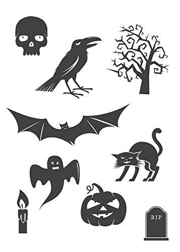 Preisvergleich Produktbild kleb-drauf® -Halloween Pur - Poster (50x70 cm)