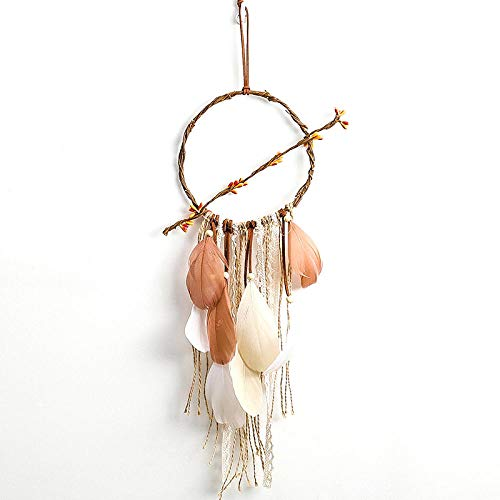 CAMOTIONS Dekoartikel Autozubehör Dream Catcher Feather Wind Chimes Car Pendant