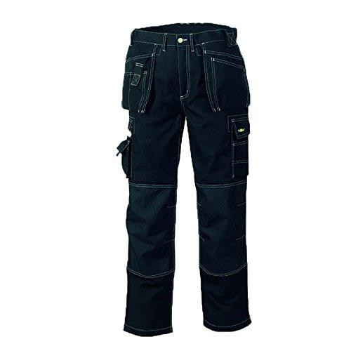 teXXor - Pantaloni da lavoro in saia, mod. Panama, taglia 54, colore: Nero
