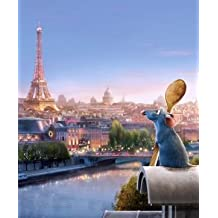 RATATOUILLE – US Textless Imported Movie Wall Poster Print - 30CM X 43CM Brand New Disney
