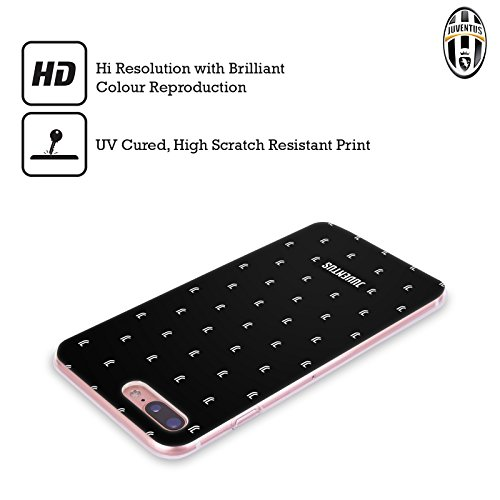 Ufficiale Juventus Football Club Banale Lifestyle 2 Cover Morbida In Gel Per Apple iPhone 6 / 6s Pattern Logomark