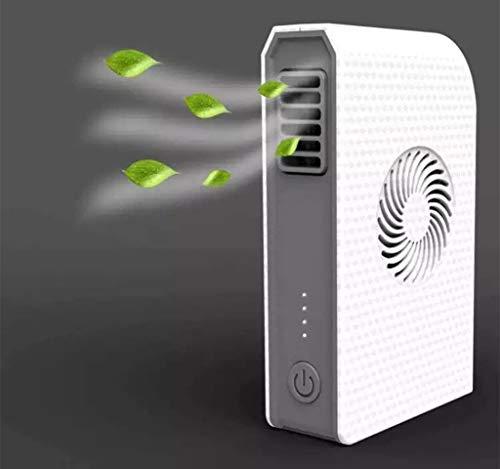 Lade Schatz Klimaanlage Fan 2 In 1Combo Fan Nein Blade Fan 6000Mah Mobile Power Fan Für Zuhause, Büro, Schule, Schlafsaal, Outdoor Camping,White - Fan-ellenbogen