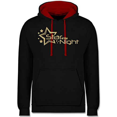 Typisch Frauen - Star of The Night - XXL - Schwarz/Rot - JH003 - Kontrast ()