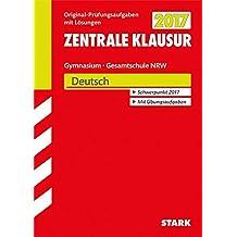 Zentrale Klausur Gymnasium NRW - Deutsch