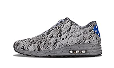 "Nike Air Max 90 Lunar SP ""Moon Landing"" - Rflct Slvr/Rflct Slvr-Mtllc Gl Trainer Size 6 UK"