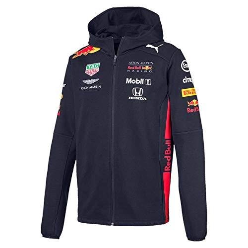 PUMA Red Bull Racing Team Sweatshirt Red Racing Sweatshirt