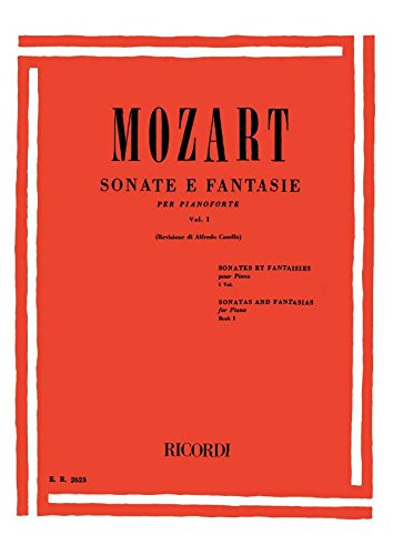 Sonate E Fantasie Volume I