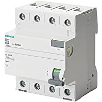 Siemens 5sv - Interruptor diferencial 5sv clase-ac 4 polos 40a 30ma 70mm